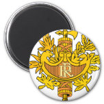 France Coat Of Arms Refrigerator Magnet