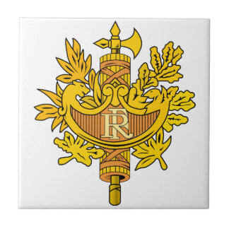 France Coat Of Arms Tile