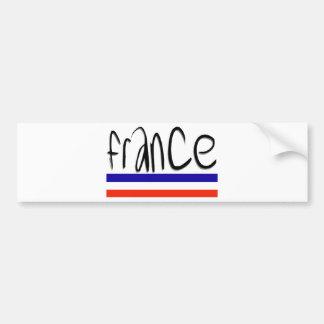 France Colors! Bumper Sticker