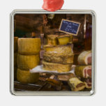 France, Corsica. Local cheeses and charcuterie Christmas Tree Ornament