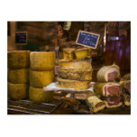 France, Corsica. Local cheeses and charcuterie Post Cards