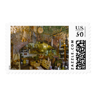 France, Corsica. Shop in Calvi offering products Postage