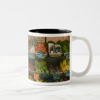 France, Corsica. The Taste of Authentic Corsican Two-Tone Coffee Mug