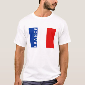france country flag symbol name text T-Shirt