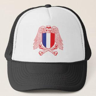 France Crossbones Trucker Hat