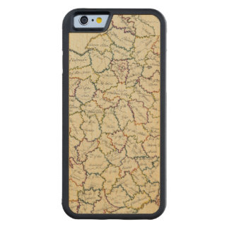 France departments carved® maple iPhone 6 bumper