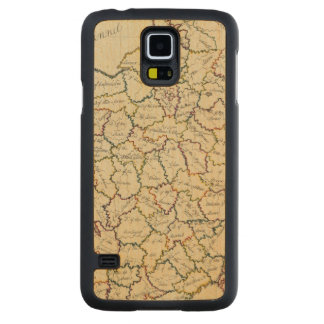 France departments carved® maple galaxy s5 slim case