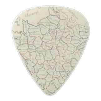 France departments acetal guitar pick