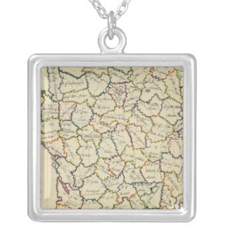 France departments custom necklace