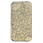 France departments iPhone 6/6s wallet case