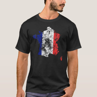 France distressed shirt