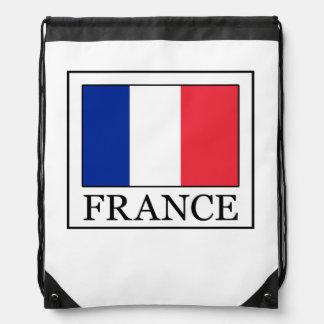 France Drawstring Backpack