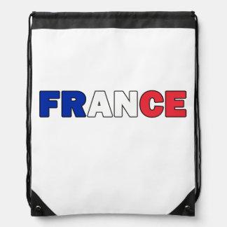 France Drawstring Bag
