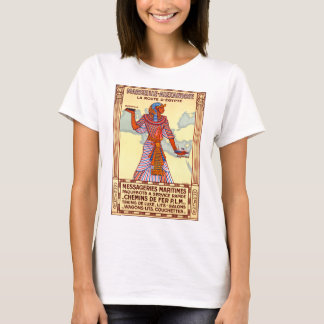 France Egypt Restored Vintage Travel Poster T-Shirt