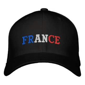 France Embroidered Baseball Hat