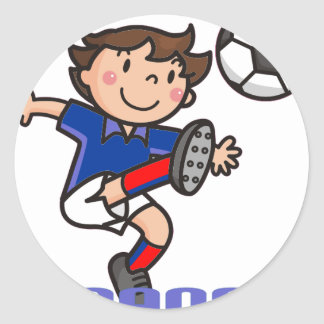 France - Euro 2012 Classic Round Sticker