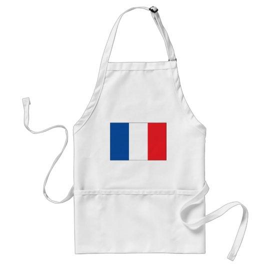 France Flag Adult Apron