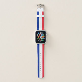 France Flag Apple Watch Band