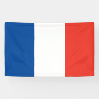 France Flag Banner