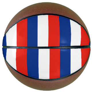 France Flag Basketball