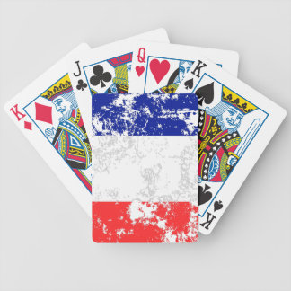 France Flag Bicycle Playing Cards