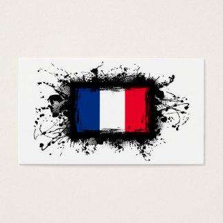 France Flag Business Card
