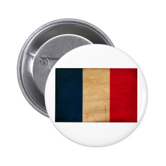France Flag 2 Inch Round Button