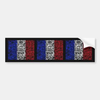 France - Flag Car Bumper Sticker