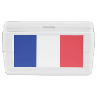 France Flag Chest Cooler