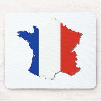 France Flag Colors! Mouse Pad
