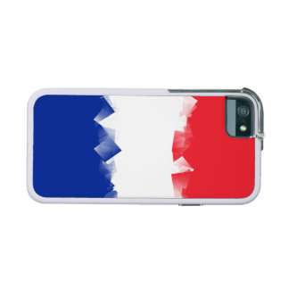 France Flag Cubic Case For iPhone 5/5S