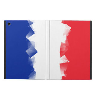 France Flag Cubic Cover For iPad Air