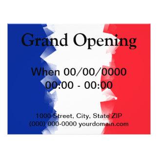 France Flag Cubic Flyer