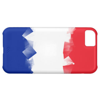 France Flag Cubic iPhone 5C Covers