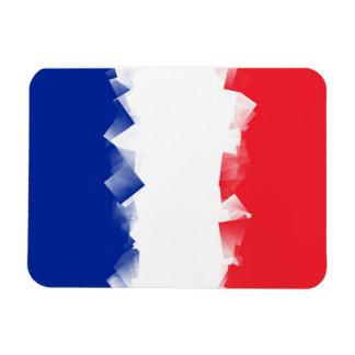 France Flag Cubic Magnet
