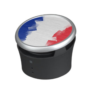 France Flag Cubic Speaker