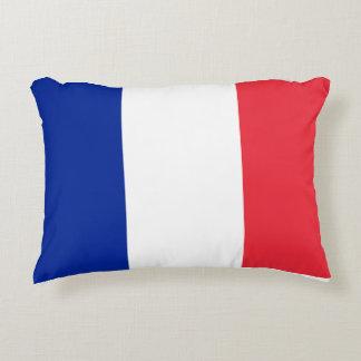 France Flag Decorative Pillow