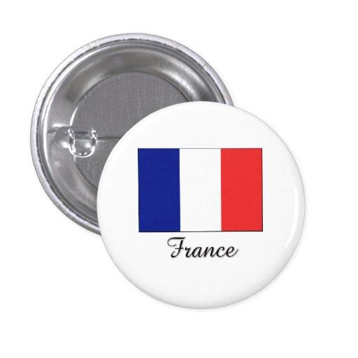 France Flag Design Pin
