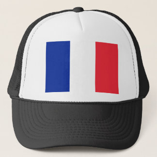 France flag; drapeau trucker hat