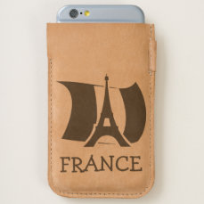 France Flag Eiffel Tower iPhone 6/6S Case