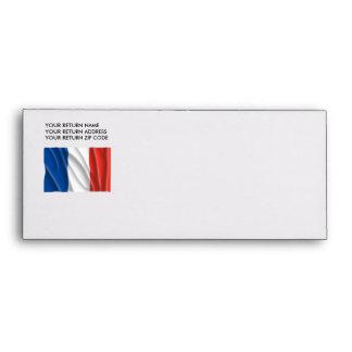 FRANCE FLAG ENVELOPE