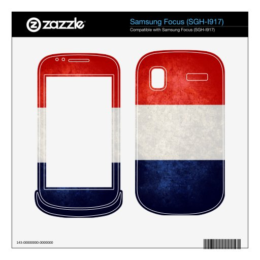 France Flag; French; Samsung Focus Decal
