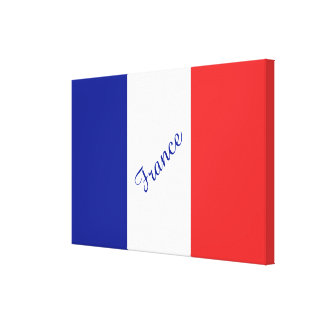 France flag French tricolore Canvas Print
