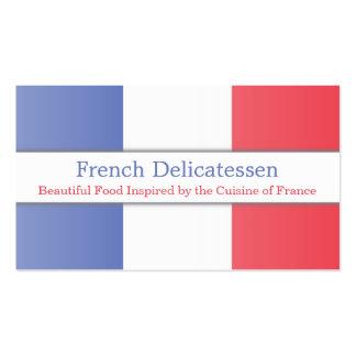 France Flag, Fully Customizable Business Card