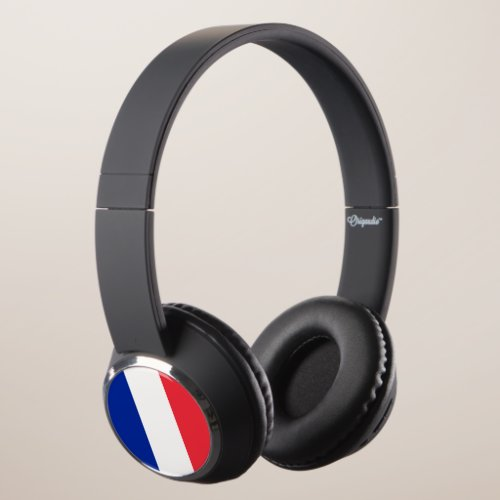 France Flag Headphones