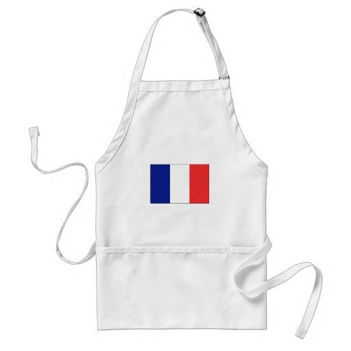 France FLAG International Adult Apron