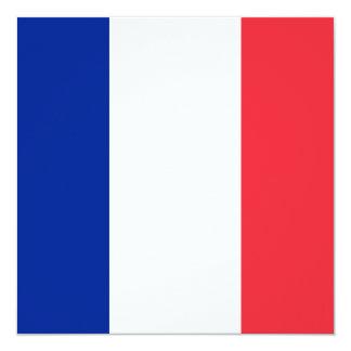 France Flag Invitation