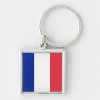 France Flag Keychain