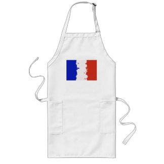 FRANCE FLAG LONG APRON