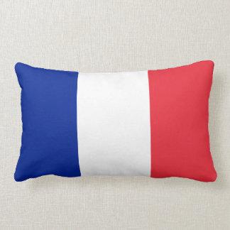 France Flag Lumbar Pillow